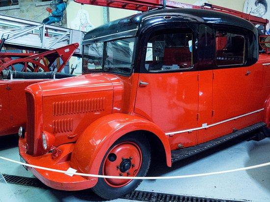 Osny, France: Le musée des Sapeurs Pompiers