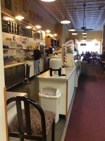 Indianola, IA: Order counter