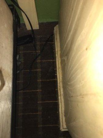 Tavares, FL: Night stand next to bed! Yuck!!!