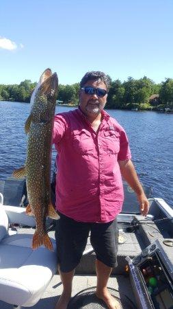 Land O' Lakes, WI: Nice Catch