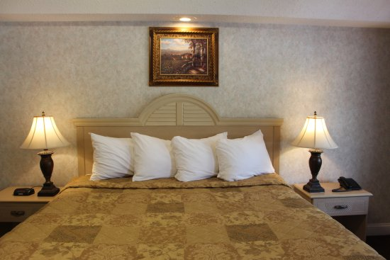 Country View Inn & Suites: Deluxe King Bed NS