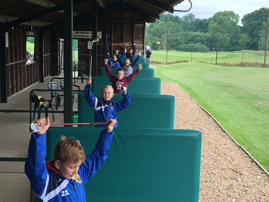 Burgess Hill, UK: Children's Birthday Parties, who can hit the furthest on the Driving Range?