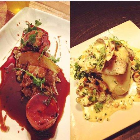 Beyton, UK: Seasonal and locally produced dishes