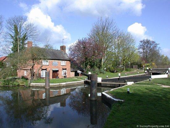 Addlestone, UK: New Haw Lock