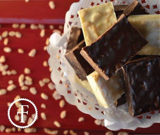 FRANTOM chocolates: Chocolate con cereales