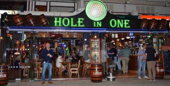 ‪Hole in One‬