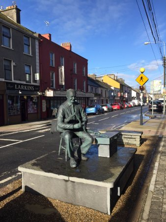 Miltown Malbay, Irlandia: Willie Clancy Statue