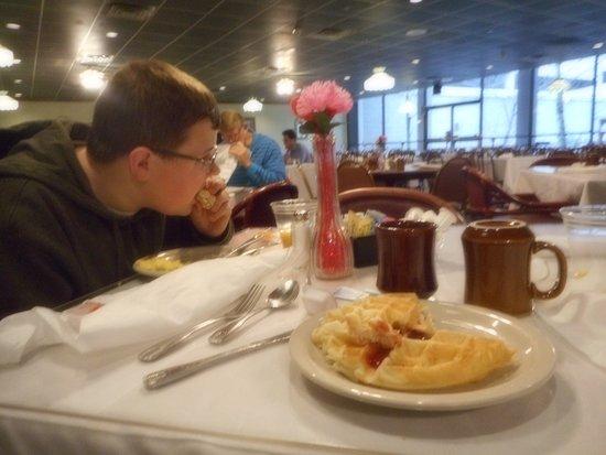 Huntington, Wirginia Zachodnia: breakfast room