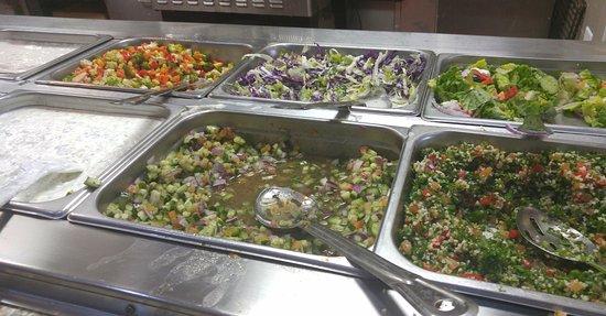 Richardson, TX: salads