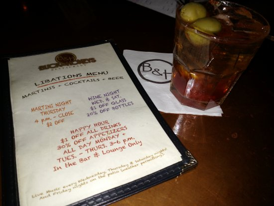 Buck & Honey's Sun Prairie WI - Old Fashioned