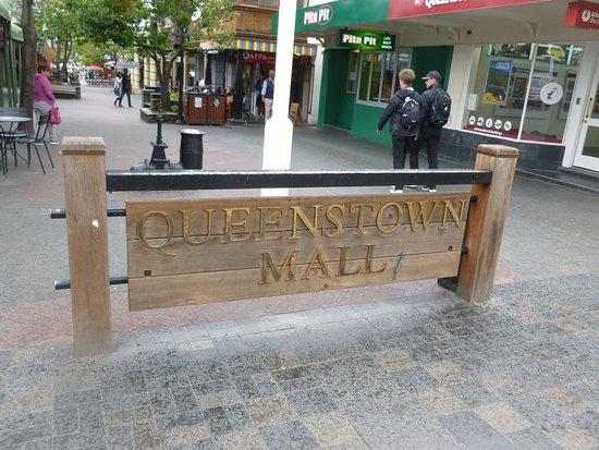 Queenstown, Nieuw-Zeeland: The Mall