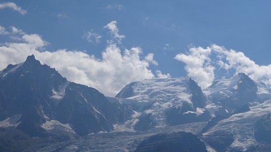 Les Houches, Francia: De L'aiguille du midi au Mont Blanc