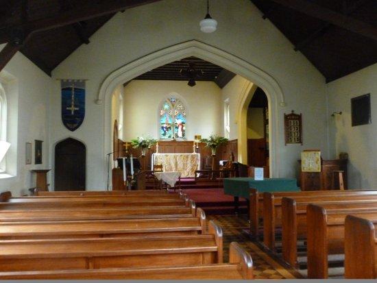 Queenstown, Nieuw-Zeeland: The altar