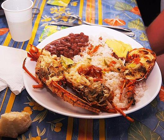 Le Francois, Martinique: Déjeuner sur l'îlet Thierry - Cuisine créole