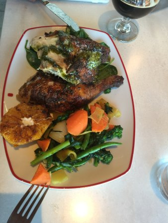 Tysons Corner, VA: Pollo a la cerveza