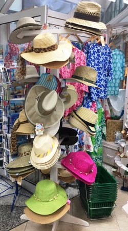 Rockley, Barbados: Hats, Hats, Hats (and Caps too)!