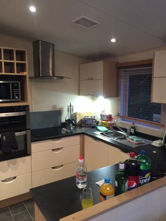 Mullion, UK: Kitchen