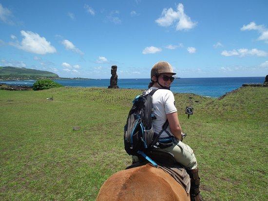 Cabañas Pikera Uri: Horseback riding tour