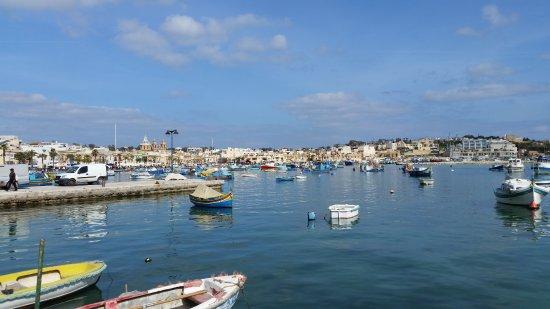 Marsaxlokk, Malta: Working harbour