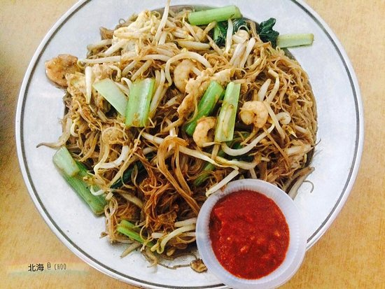 Butterworth, Malasia: fried noodles