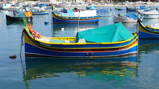 Marsaxlokk, Malta: Original boats