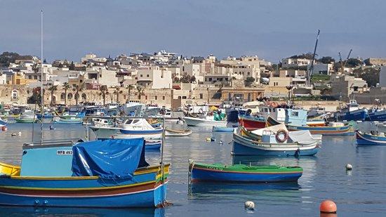 Marsaxlokk, Malta: Beautiful harbour
