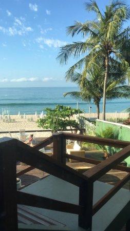 Coconut's Maresias Hotel : Vista do café da manhã