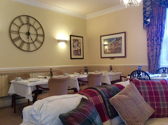 Ringwood, UK: Breakfast room