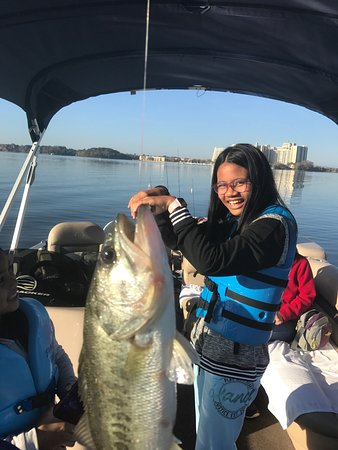 Disney world guided fishing excursions orlando all you for Bass fishing disney world
