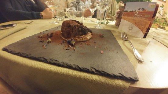 Guasticce, Italy: dolce al cioccolato buonissimo
