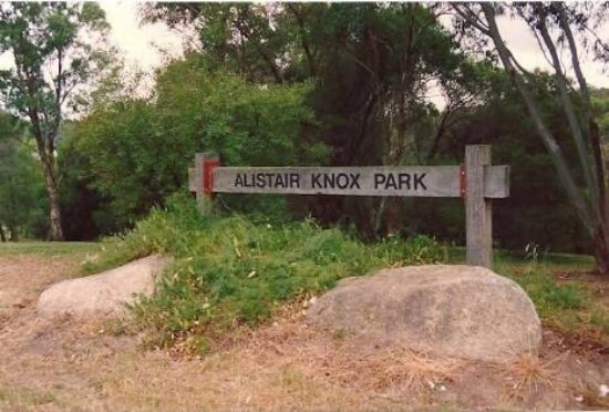 Eltham, Australia: Alistair knox park