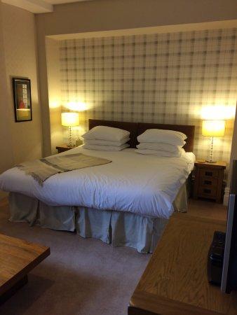 Boscastle, UK: Room 3, Q. Twin or super king with en suite bathroom