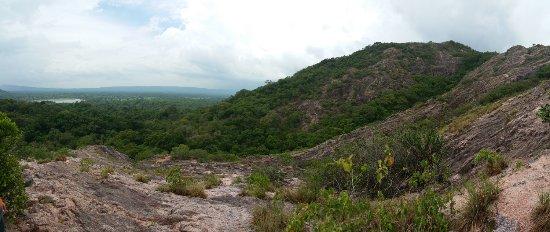 Tangalle, Sri Lanka: uitzicht vanaf de rozenkwartsberg