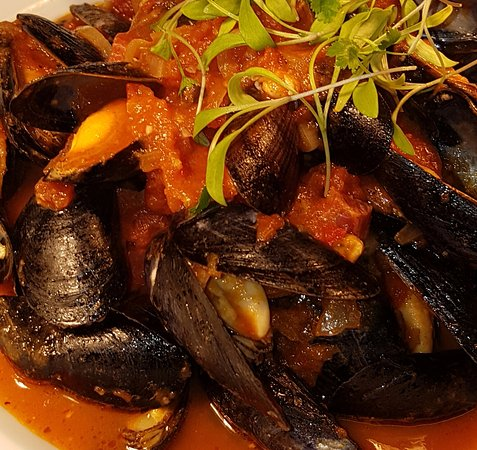Menai Bridge, UK: Menai mussels