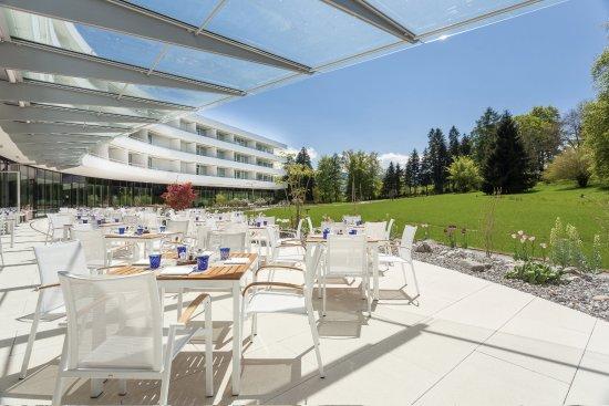 Oberwaid - Kurhotel & Privatklinik: Terrace Lounge Restaurant