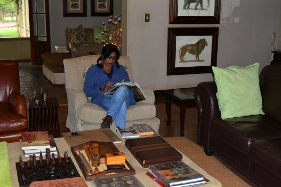 Pongola, Sudáfrica: lounge in reception