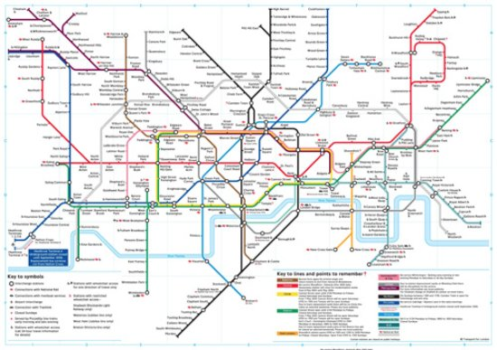 Train Map Of London Picture Of Luma Concept Hotel Hammersmith