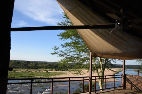 Komatipoort, South Africa: The view from the balcony