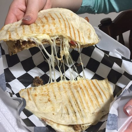 Mankato, MN: The quesadilla is full of flavor!