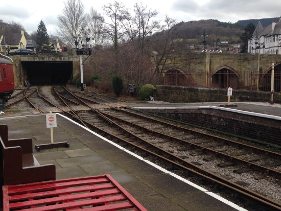 Llangollen Railway: Not too much to see when no trains are running, but the preserved railway and buildings give an