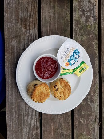Clun, UK: Scones