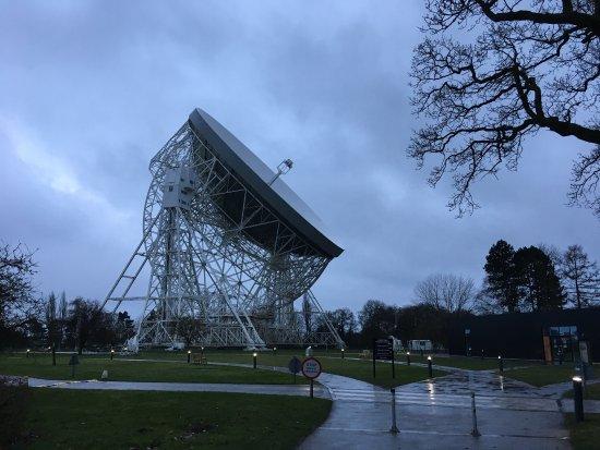 Macclesfield, UK: The telescope