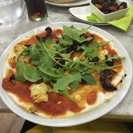 Gluten Free Pizza Picture Of Pizza Margherita Lancaster