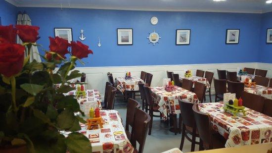 Camber, UK: Coastal cafe