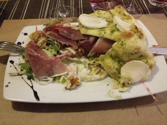 Briec, France : salade du berger