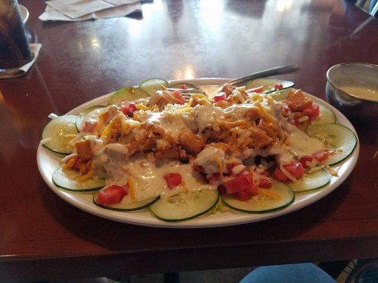 Clayton, NC: Buffalo chicken salad customized