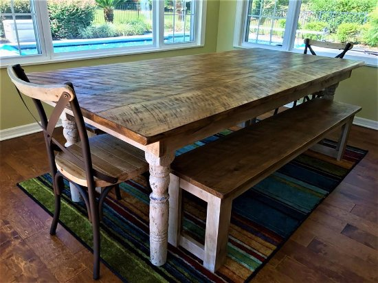 Roadside Relics: Custom Made Farm Tables! Place Your Farmhouse Table Order  In Your