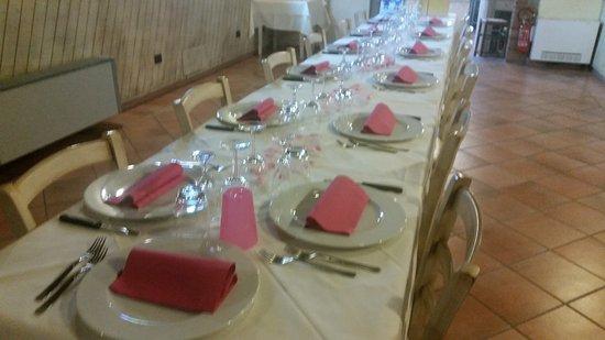 Altopascio, Italia: si festeggia un compleanno in rosa..