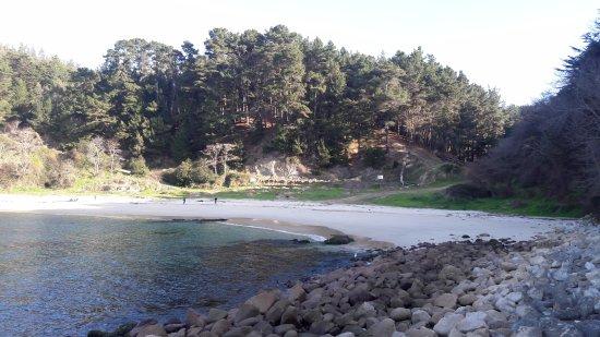 """Talcahuano, Chile: Desde lo alto se puede apreciar el color de sus aguas turquesas"""""""