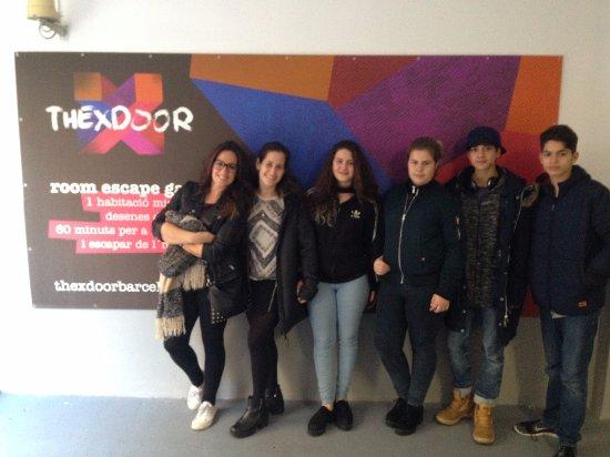 L'Hospitalet de Llobregat, España: Entrada del Room Escape